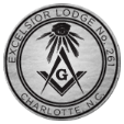 Excelsior Lodge 261 Sticky Logo